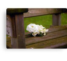 Buttonhole Rose Canvas Print