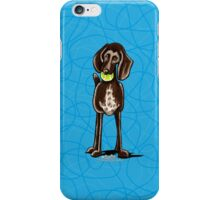 German Shorthaired Pointer Playtime iPhone Case/Skin