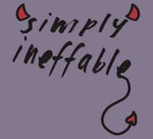 Simply Ineffable- Demon by Laura SC