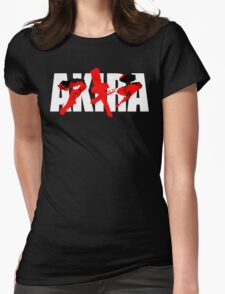 Neo Tokyo Shouting Match Womens Fitted T-Shirt