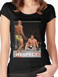 HESPECT Women's Fitted Scoop T-Shirt