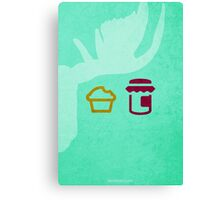 If You Give a Moose a Muffin w/o Title Canvas Print