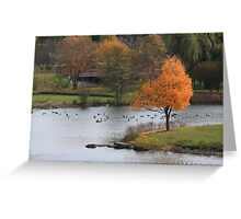 A Perfect Fall Frame Greeting Card