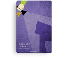Goodnight Gorilla Canvas Print
