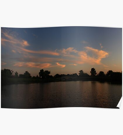 Another Lisle, IL Sunset Poster