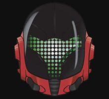 Daft Punk Samus Helmet V2 by way2spooky