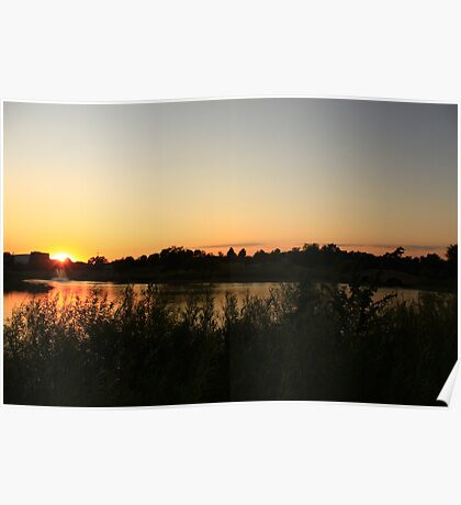 A Beautiful Sunset Poster