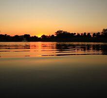 Oil Slick Sunset by Adam Kuehl
