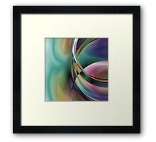 Abstract Digital Art :: Ink Stains Framed Print