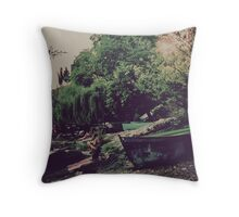 Ohrid - Kaneo, Macedonia Throw Pillow