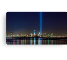 9/11 Tribute Panorama Canvas Print