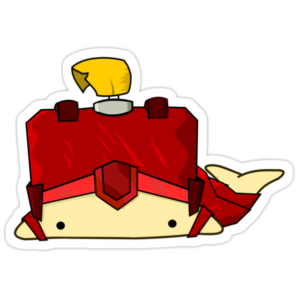 Knight Whailz Sticker by pixelpatch