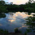 Hidden Lake Sunset by Adam Kuehl