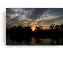 Beautious Sunset Canvas Print