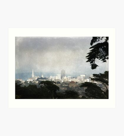 The City by the Bay Art Print