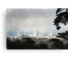 The City by the Bay Canvas Print