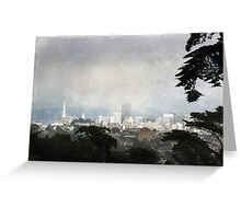 The City by the Bay Greeting Card