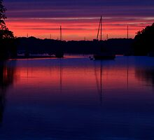 Red Sky At Night by dlhedberg