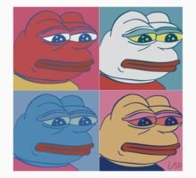 Rare Pepe Art Kids Tee
