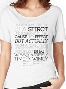Time (Doctor Who) Women's Relaxed Fit T-Shirt