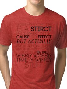 Time (Doctor Who) Tri-blend T-Shirt