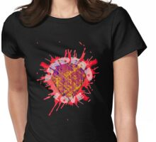undead love Womens Fitted T-Shirt