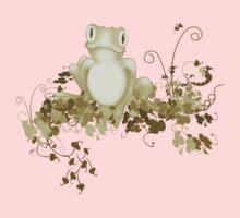 retro frog  Kids Tee