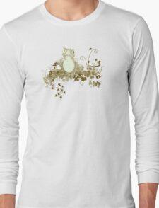 retro frog  Long Sleeve T-Shirt