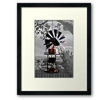 Wind Feeder Framed Print