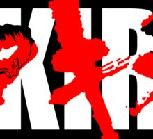 Neo Tokyo Shouting Match Sticker