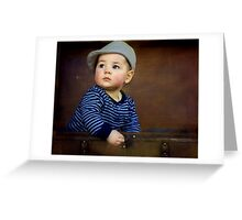 """ Parker , 7 months old "" Greeting Card"