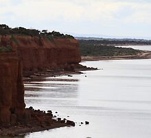Red Cliffs of Ardrossan South Australia by R-Summers