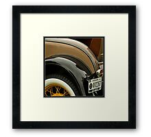 Classy Chassis Framed Print