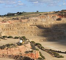 The Pit!!  Mining Dolomite Ardrossan by R-Summers