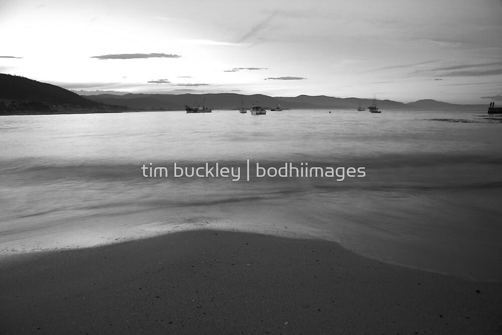sunset. bicheno, tasmania by tim buckley | bodhiimages