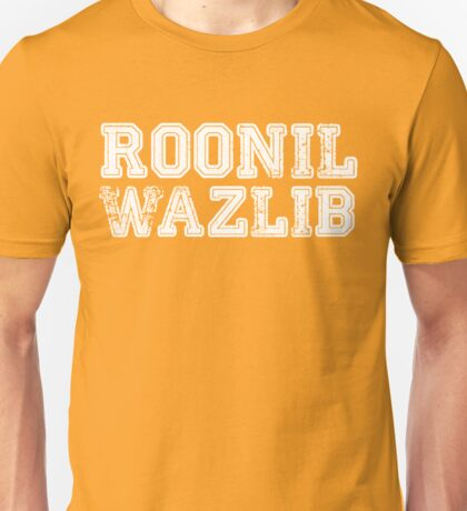 Roonil Wazlib [White] Unisex T-Shirt