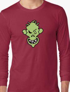 Naughty Halloween Zombie Long Sleeve T-Shirt