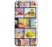 Bunyip Tree Collage iPhone Case/Skin