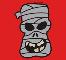 Naughty Halloween Mummy Baby Tee