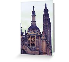 Turrets Greeting Card