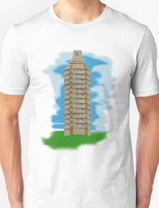spray can tower block  T-Shirt