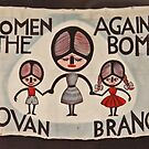Govan Women Against the Bomb Banner by simpsonvisuals