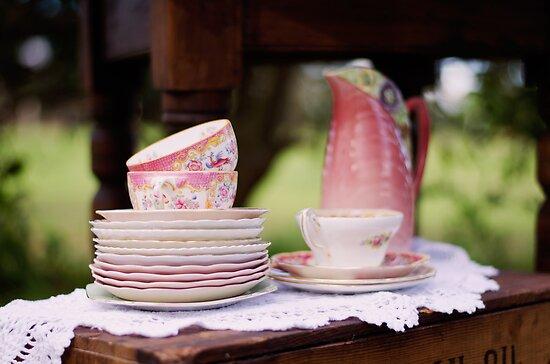 Fine Vintage Tea  by Carol Knudsen