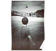 The boy and the helicopter Poster