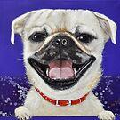 Pug Love by Melanie Pople