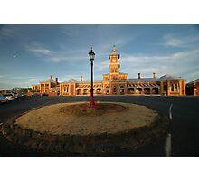 Albury Railway Station, NSW, Australia 2009 Photographic Print