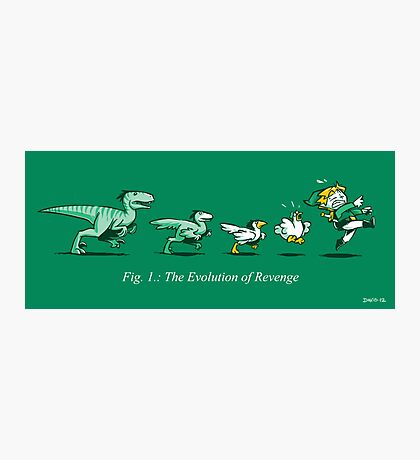The Evolution of Revenge (Print Version) Photographic Print
