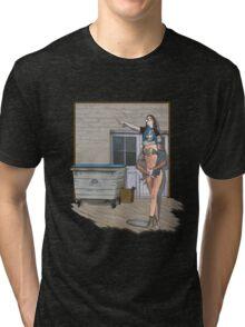 going to town Tri-blend T-Shirt