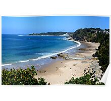 Looking Over Jenny Dixon Beach. Poster