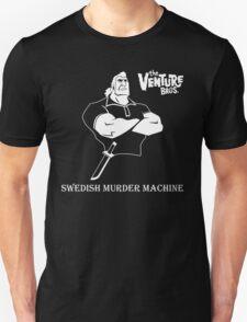 Brock Samson Swedish Murder Machine The Venture Bros. Anime Tv Series T-Shirt